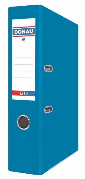Donau Pořadač pákový LIFE A4 7,5 cm - neonově modrý, Sleva 20%