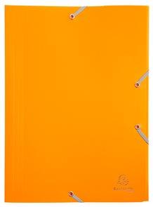Exacompta Spisové desky s gumičkou A4 maxi, PP - žluté