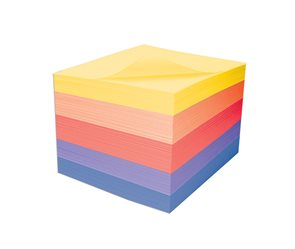 CAESAR OFFICE Špalíček lepený barevný 9x9x5,5