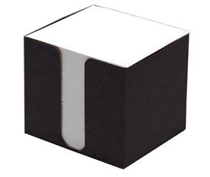 CAESAR OFFICE Špalíček nelepený 8,5x8,5x8 v krabičce - černá