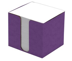 CAESAR OFFICE Špalíček nelepený 8,5x8,5x8 v krabičce - fialová