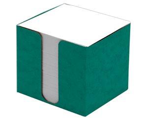 CAESAR OFFICE Špalíček nelepený 8,5x8,5x8 v krabičce - zelená
