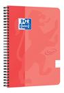 Oxford Nordic Touch Zápisník A5+ 70 listů, linkovaný - lososový