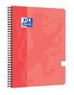 Oxford Nordic Touch Zápisník A4+ 70 listů, linkovaný - lososový