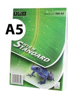 High Standard Kancelářský papír A5 80 g - 500 listů