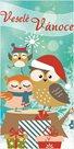 Stil Vánoční blahopřání - Sovičky