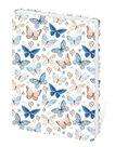 Zápisník Lyra linkovaný S, 10 x 15 cm - Butterfly/motýli