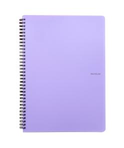 Karton PP PASTELINi Kroužkový blok A4 - fialová