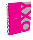 Kroužkový blok A4 - OXY růžová