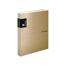 Karton PP Metallic Karis blok A5 - zlatá
