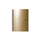 Karton PP Metallic Kroužkový blok A4 - zlatá