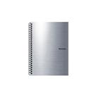 Karton PP Metallic Kroužkový blok A5 - stříbrná
