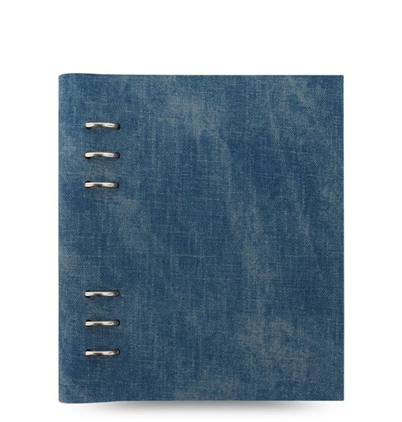Filofax Clipbook Architexture kroužkový poznámkový blok A5 - Denim