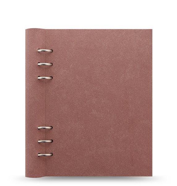 Filofax Clipbook Architexture kroužkový poznámkový blok A5 - terracotta