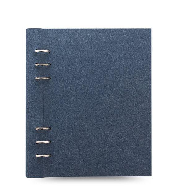 Filofax Clipbook Architexture kroužkový poznámkový blok A5 - blue suede