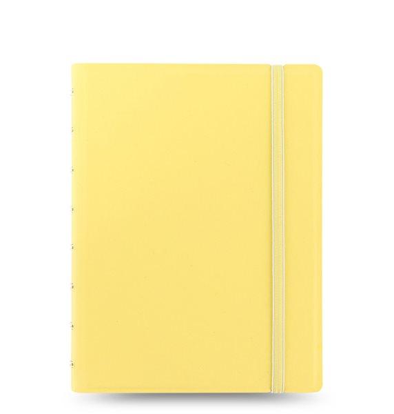 Filofax Notebook Pastel poznámkový blok A5 - pastelově žlutá