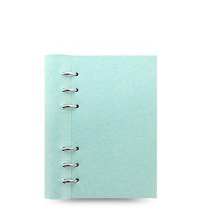 Filofax Clipbook Pastel kroužkový poznámkový blok osobní - pastelově zelená