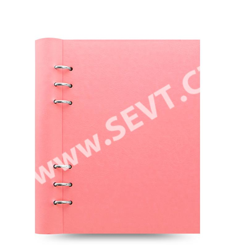 56818a8b5b Filofax Clipbook Pastel kroužkový poznámkový blok A5 - pastelově růžová