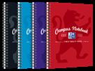 Oxford Campus Zápisník A5 50 listů, linkovaný - mix barev