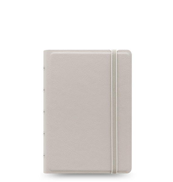 Filofax Notebook Pastel poznámkový blok A6 - šedá