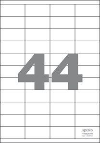 Spoko Samolepicí etikety A4 100 listů - 52,5 × 25,4 mm