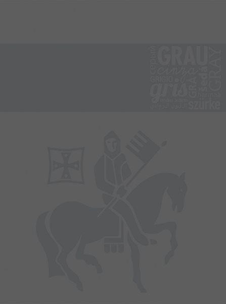 Staufen Blok A4 linkovaný - kroužková vazba - 80 listů, tm.šedá