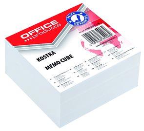 Poznámkový papír náhradní 85 × 85 × 40 mm, nelepený - bílá