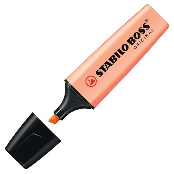 STABILO BOSS ORIGINAL Pastel Zvýrazňovač - oranžová, Sleva 15%