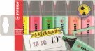 STABILO BOSS ORIGINAL Zvýrazňovač - sada 6 barev Bullet Journal
