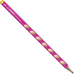 STABILO EASYgraph Slim L HB Tužka pro leváky - růžová