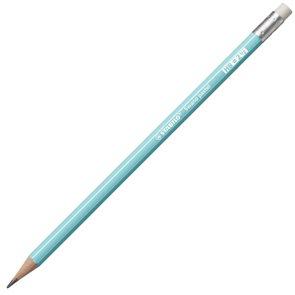 STABILO Swano Pastel Grafitová tužka s pryží HB - modrá