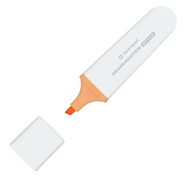 Centropen Zvýrazňovač 6252 STYLE SOFT - oranžový