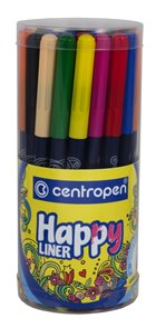 Centropen Happy liner 2521 0,3 mm - sada 36 kusů