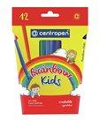 Centropen Popisovač 7550/12 Rainbow Kids - sada 12 barev