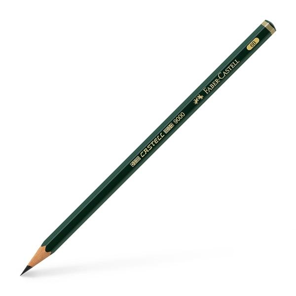 Grafitová tužka Faber-Castell 9000 6B