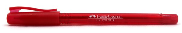 Kuličkové pero Faber-Castell CX Color 1.0mm - červená