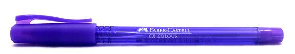 Kuličkové pero Faber-Castell CX Color 1.0mm - fialová