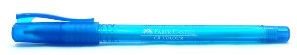 Kuličkové pero Faber-Castell CX Color 1.0mm - tyrkysová
