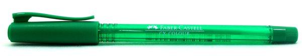 Kuličkové pero Faber-Castell CX Color 1.0mm - zelená