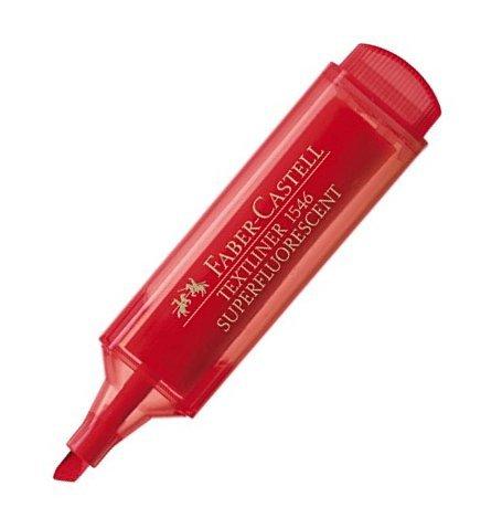 Zvýrazňovač Faber-Castell Textliner 1546 - červený