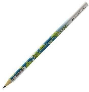 Grafitová tužka Faber-Castell trojhranná - Příšerky