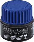 Náhradní náplň do permanentních popisovačů Faber-Castell Grip - modrá