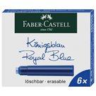 Inkoustové bombičky Faber-Castell 6ks, modrá