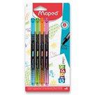 Liner MAPED Graph'Peps Deco - sada 4 barev, pastelové
