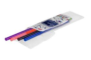 EASY FLOW 4COLOURS Náplň do gumovacího pera, 4 barvy - černá, modrá, fialová, oranžová