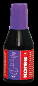 Kores Razítková barva 28 ml - fialová