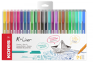 Kores K-Liner 0,4 mm - sada 24 barev