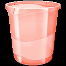Odpadkový koš Esselte Colour'Ice 14 l. - ledově meruňková