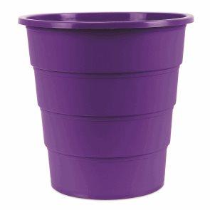 Odpadkový koš PP 16 l - fialový