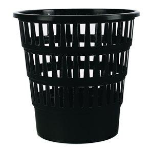 Odpadkový koš perforovaný PP 16 l - černý